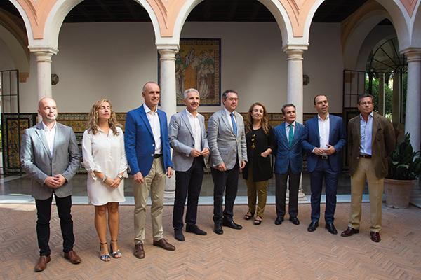 Presentación del Año Murillo en Sevilla. 3 de octubre de 2017.