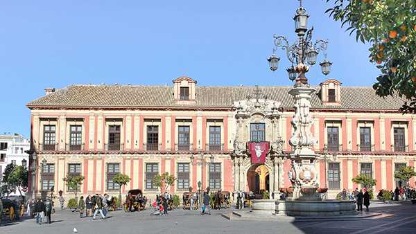 Palacio arzobispal -Itinerarios